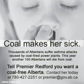Health Advocates Press Alberta to Green Its Grid