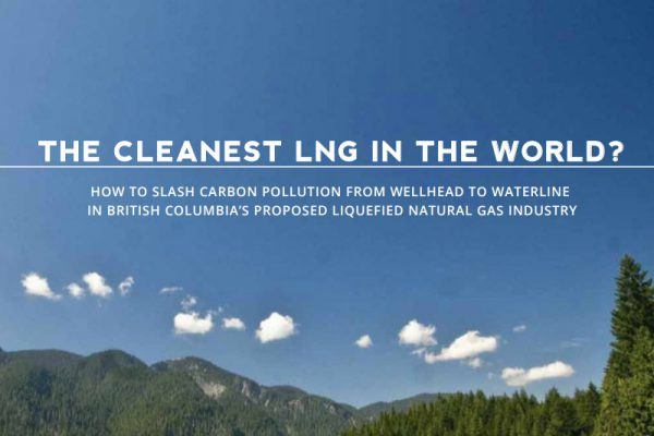The Cleanest LNG in the World?