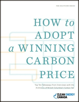 How to Adopt a Winning Carbon Price