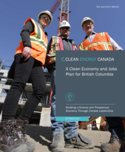 Report cover: Clean Jobs Plan