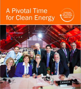 Cover of Tracking the Energy Revolution — Canada 2016