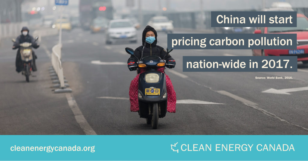 Graphic: China will start pricing carbon pollution nation-wide in 2017.