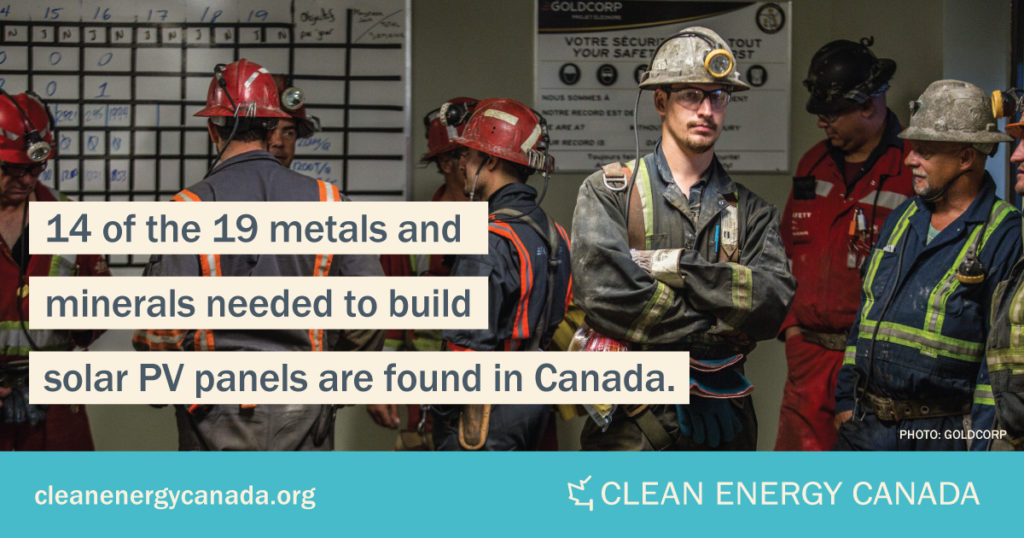 Generation Energy: Canada is home to metals and minerals essential to the clean energy transition. Source: Clean Energy Canada.