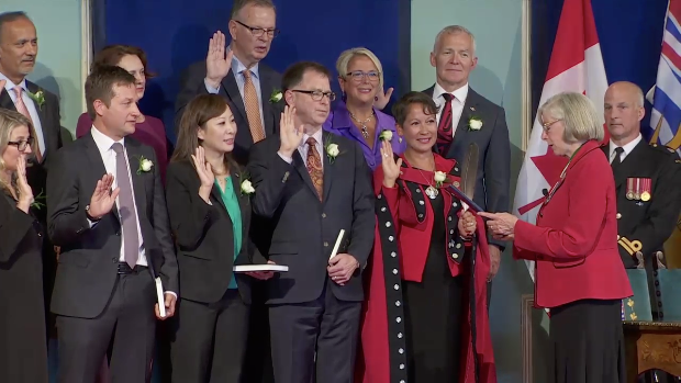 BC NDP swearing-in, July 2017