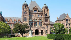 Queen's Park, Ontario Legislature.