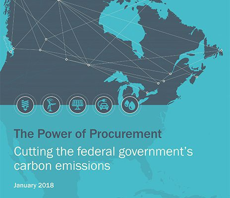 The Power of Procurement: Cutting the federal government's carbon emissions
