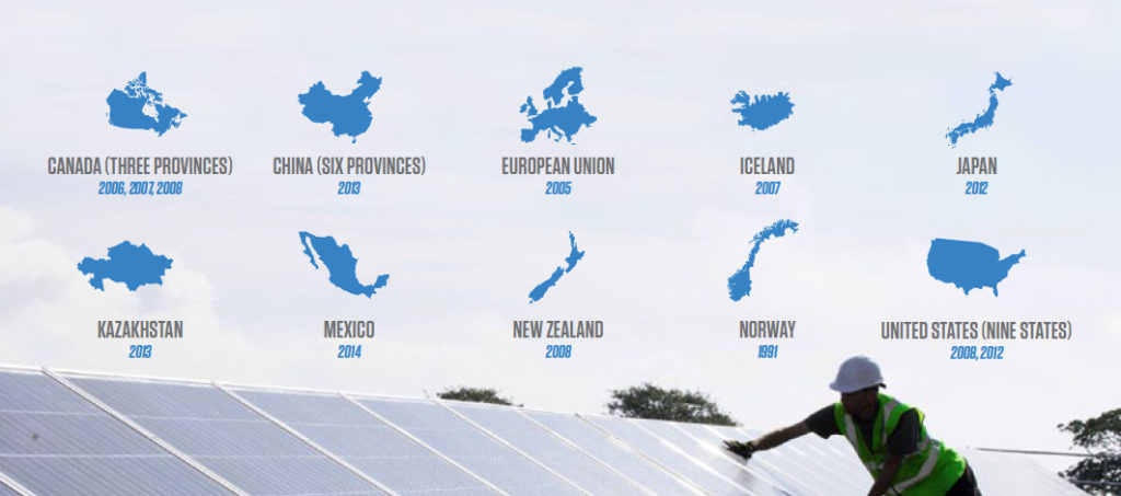 Where Leadership Lives: A Global Tour of Carbon Pricing