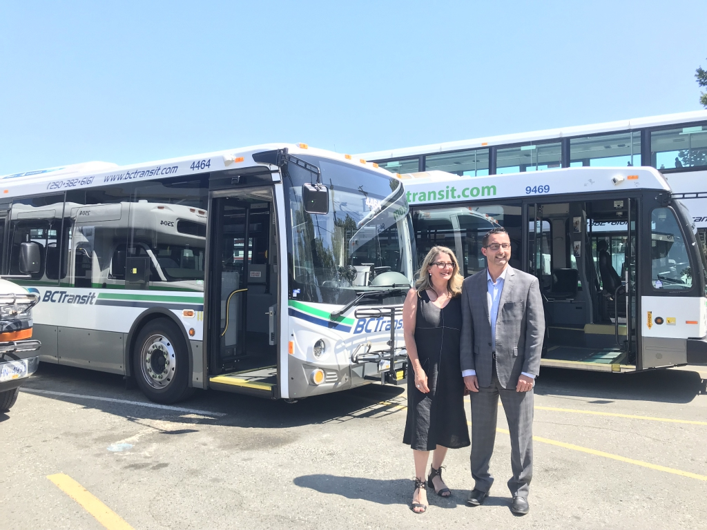 BC Transit announces plan for fully electric bus fleet